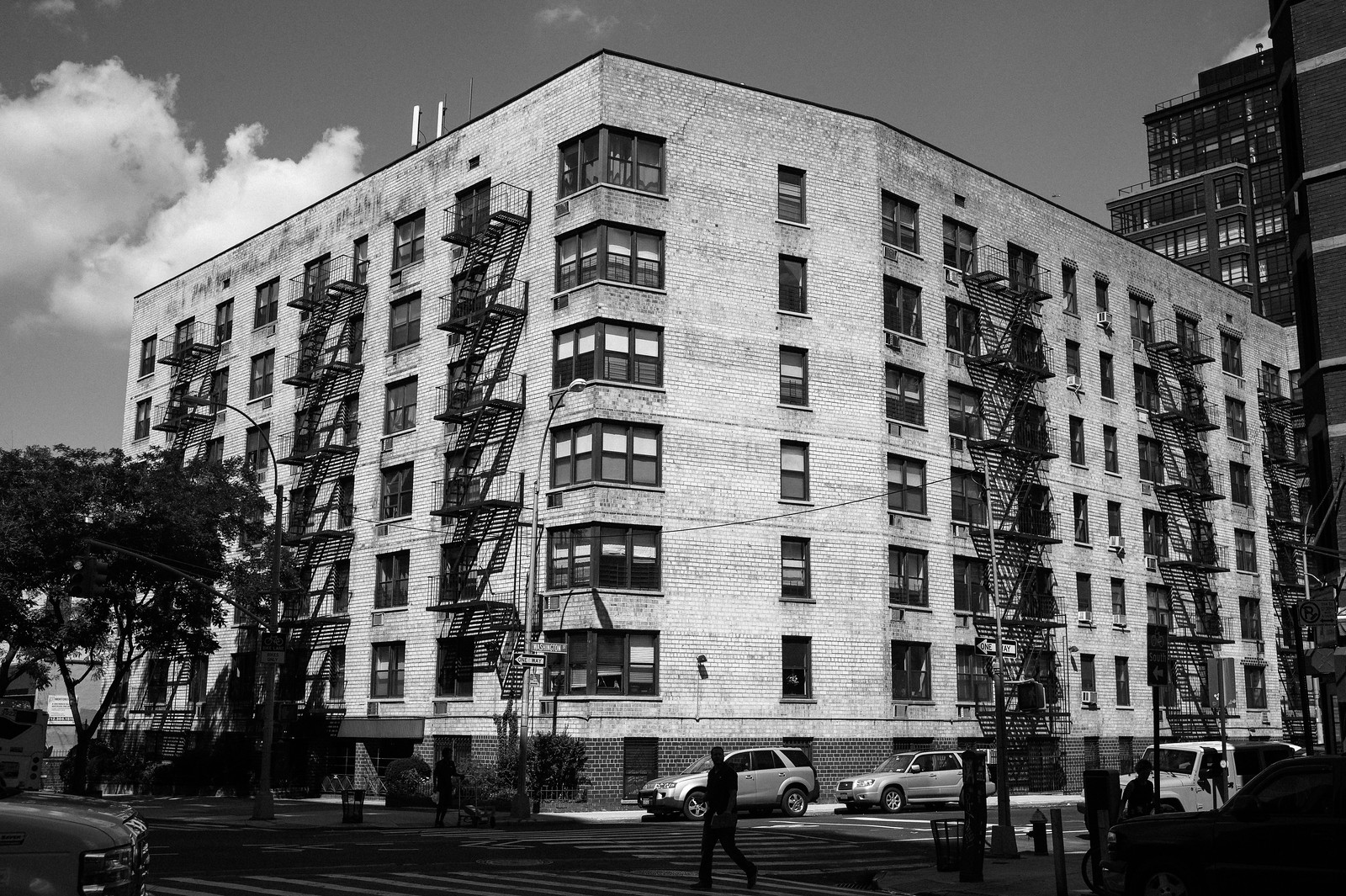 "Image titled ""Fire Escapes #8, NYC."""