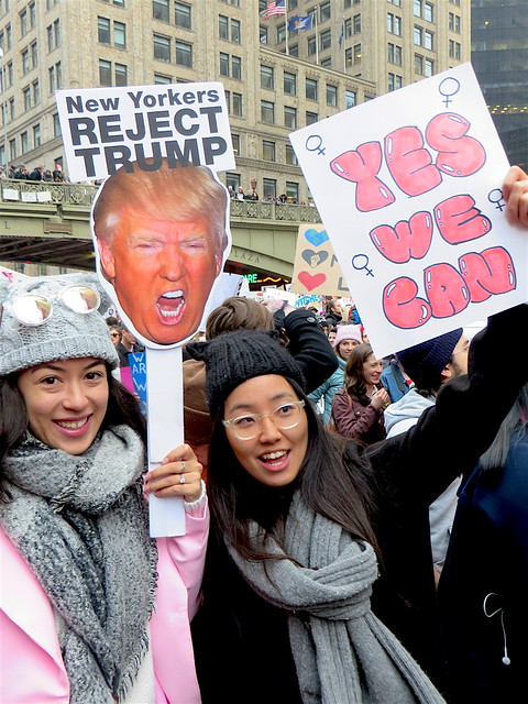 New Yorkers reject Trump