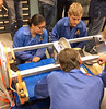 In June 2015, students from four University of Hawai'i Community Colleges were at NASA's Wallops Flight Facility in Virginia to test the scientific instrument they developed. The instrument is scheduled to be launched into space from Wallops in August 2015. Honolulu CC's Debora Pei and Kaua'i CC's Nicholas Herrmann assisted with the integration of the Project Imua payload into the payload stack.