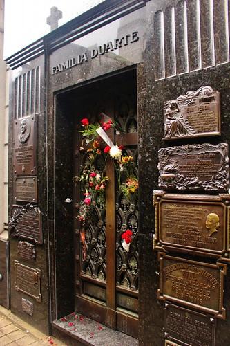 Evita's Tombstone