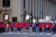 Chicago Teachers Union Rally Downtown Chicago 6-9-15 201