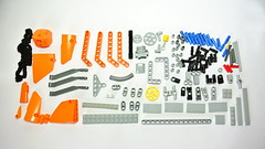 Lego Technic Chainsaw - parts list
