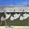 Amanda Marie work in progress @ Welling Court #wellingcourt @wellingcourtmuralproject @seeyouthroughit #streetart #ny #nyc #astoria #queens #murals #graffiti
