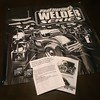 Big thanks to DW over at @welderseries for the care package! Banner and stickers w/my art... And each order from Welder Series comes with line art that I drew for the kids to color. Awesome. #drawingcars #coolstuff #MyFriendsRule #welderseies #banner #col