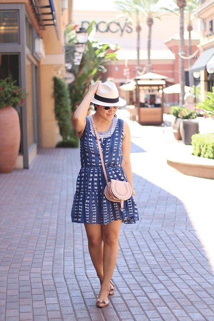 simplyxclassic, summer dress, chloe marcie bag, chloe bag, crew dress, striped tank, crew factory, blogger, fashion blogger, style, mommy blogger, mom style, orange county