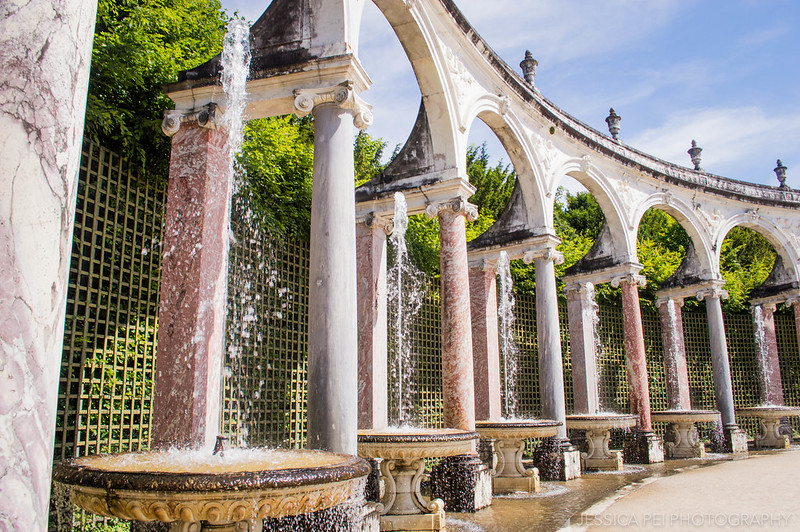 Gardens of Versailles Colonnade