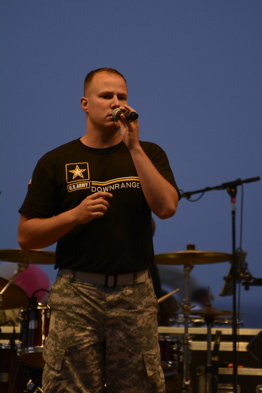 US Army Band Downrange - July 4th, 2015