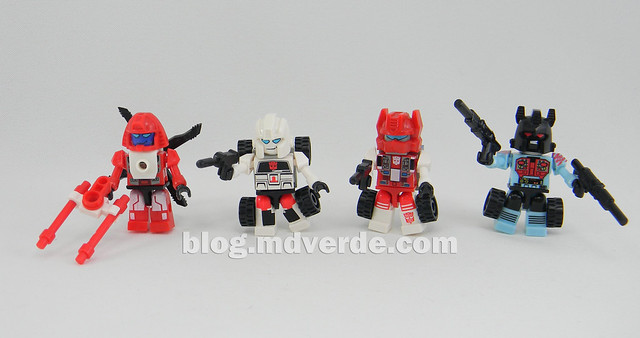 Transformers Defensor Kre-O - modo individuales robot