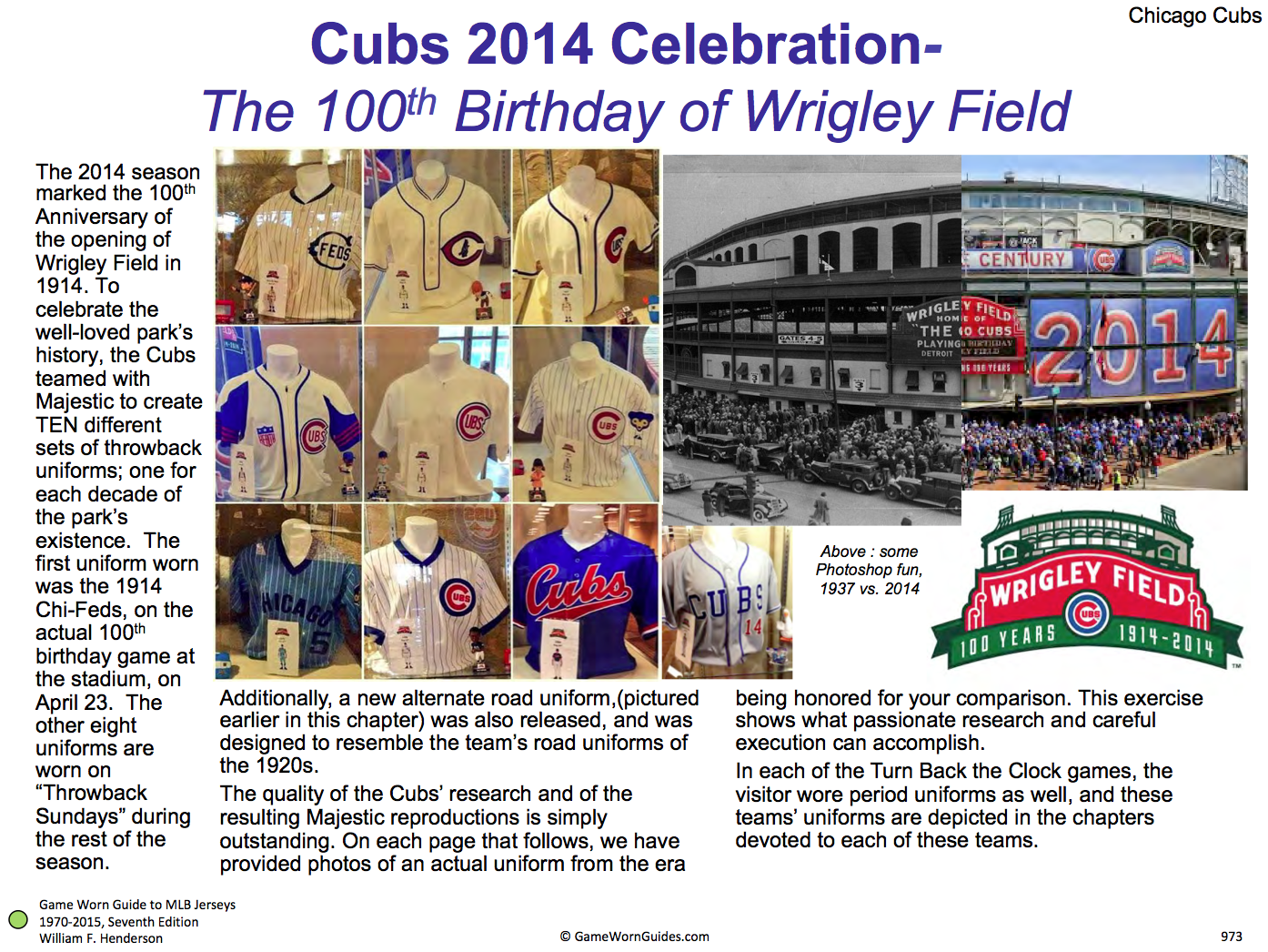 e95aca5091c The Cubbies have worn so many excellent throwbacks (including ...