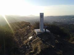Últimos rayos de sol en la cima de Malmasin