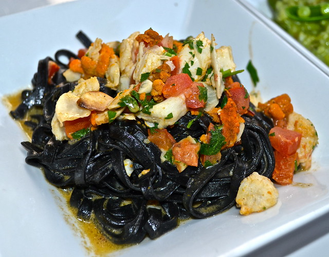 SEA URCHIN PASTA - positano coast - old city philadelphia