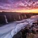 Selfoss Sunset by Sandro Bisaro