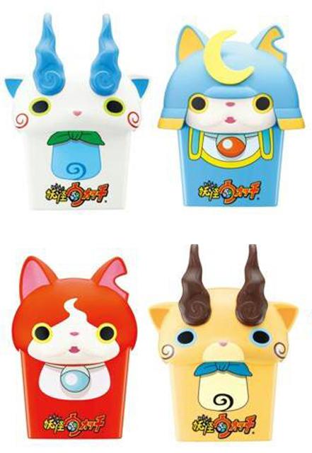 日《麥當勞》 最新餐點加購玩具是「妖怪手錶 薯條盒」!