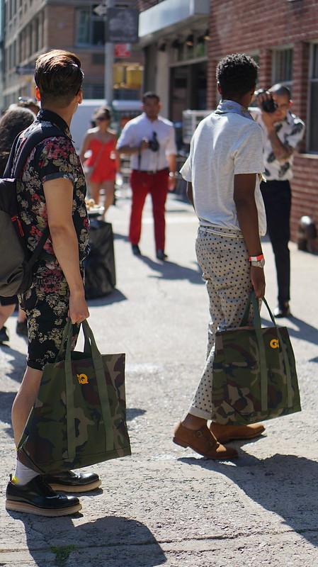 #NYFWM - Mens Fashion Week Street Style