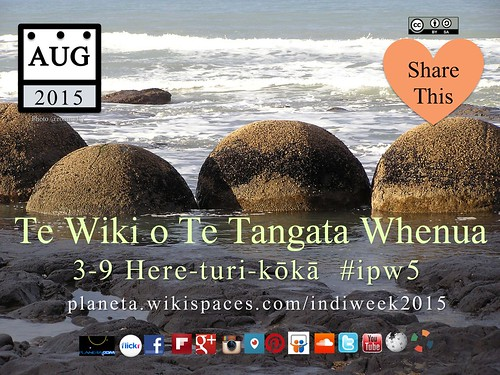 Māori: Te Wiki o Te Tangata Whenua (Indigenous Peoples Week)  #ipw5 @timeunlimited @DigitalMaori @nztri @kupumaorinz @reomaori @NZMTC