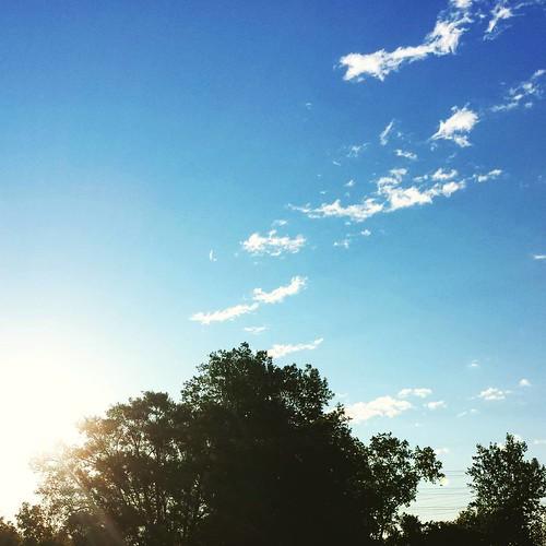 Morning sky #sunrise #clouds #wny #sky