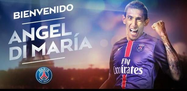 París St. Germain oficializa transferencia de Di María