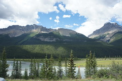 Mount Amery and Saskatchewan
