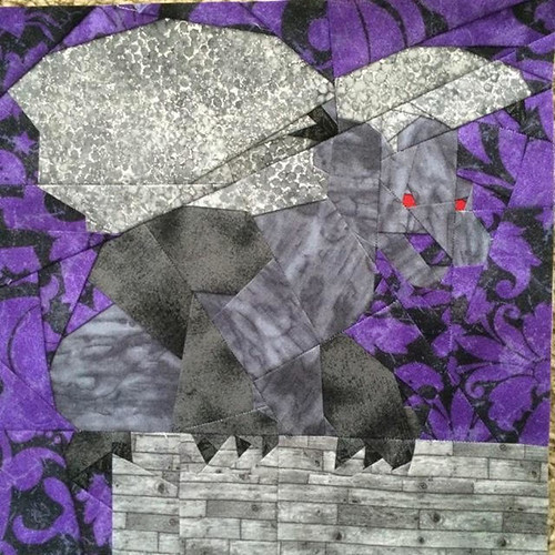 Perched Gargoyle 10x10 tested by Jessica Hart
