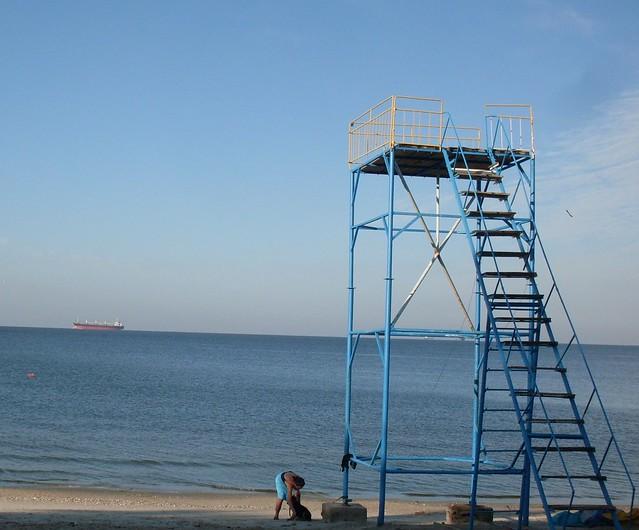 Очакв - пляж Динамо