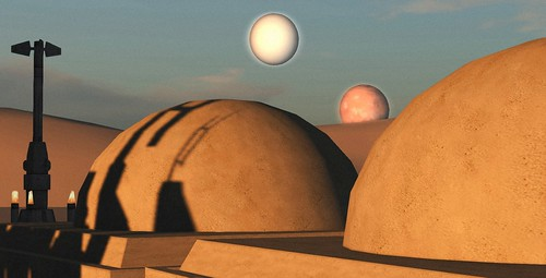 The two suns of Tatooine