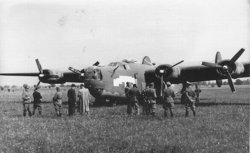 ASAF B-24 Liberator captured in the Germany 1944.