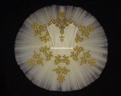 Ivory/Gold Classical Ballet Tutu