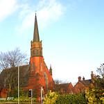 Preston, Lancashire. Fulwood Methodist Church