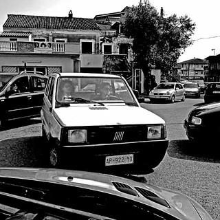 Fiat Panda 750, Calabria, Italia