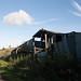Ruined barn at  Stoke Knapp Farm