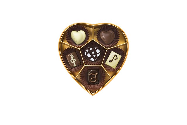 Summer Romance Heart Box 6pcs