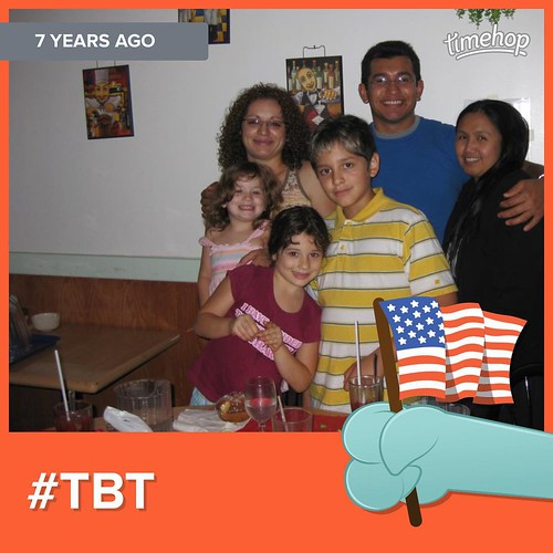 -- Day 180/365 -- whoa. talk about a blast from the past, no? #lookathowyoungwewere! #timehop #tbt #throwback #throwbackthursday #thisisyetanotherthrowbackphoto #yearofhappy #dee365happydays #7yearsagotoday