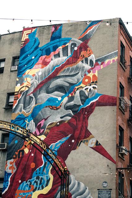 Statue of Liberty of Graffiti