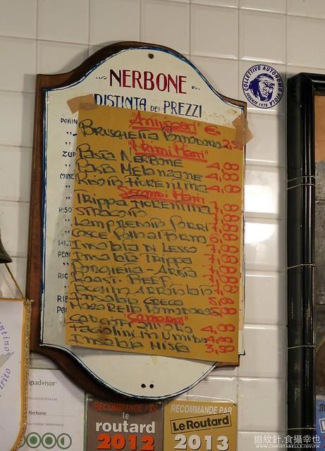 佛羅倫斯中央市場 Da Nerbone 牛肚包 lampredotto