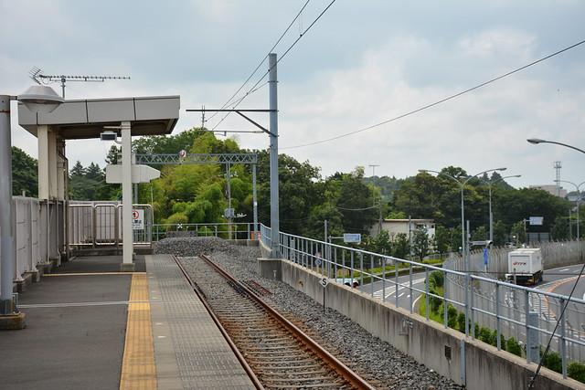 芝山鉄道線:行き止まり
