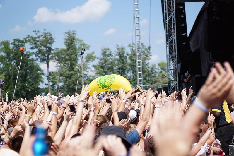 Steve Aoki - Firefly Festival 2015