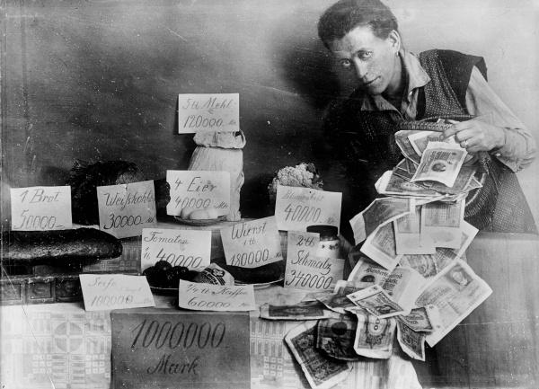 Hyperinflácia v Nemecku 1923