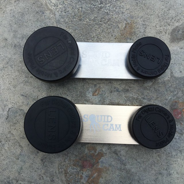 SquidCam Silver and Gold Billets