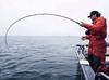 Salmon fishing at Langara Island, Haida Gwaii