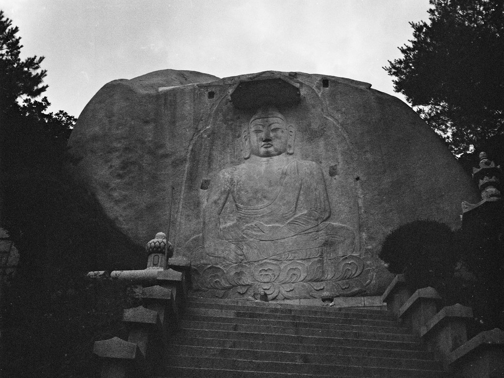 Buddha, Senga Temple, Seoul