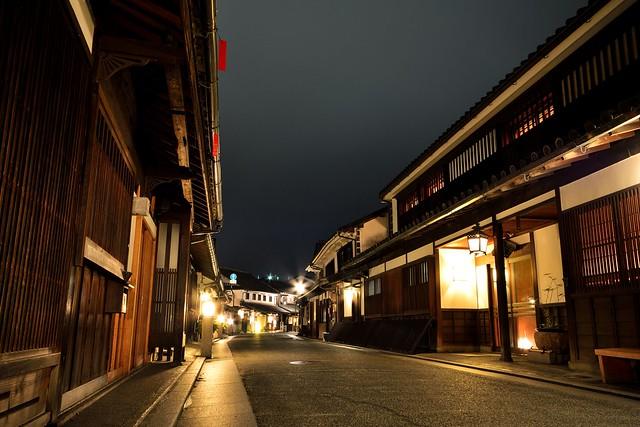 倉敷美観地区の夜景5