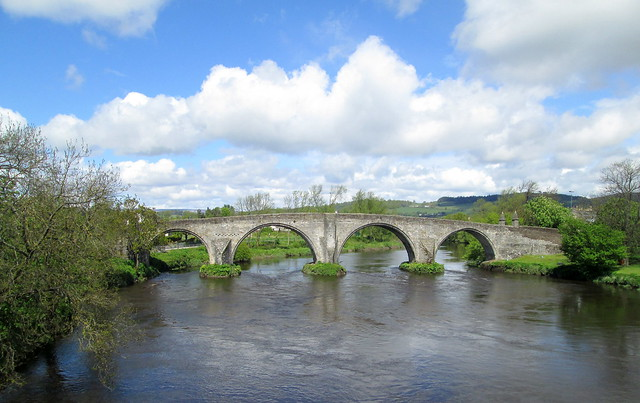 Old Stirling Bridge From Modern Bridge