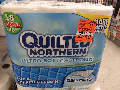 Quilted Northern 18 double roll