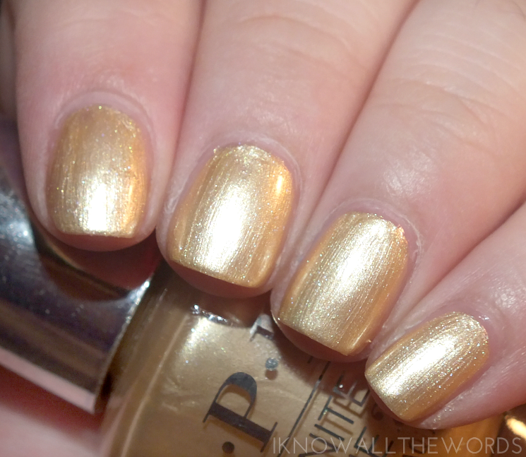 OPI infinite shine summer 2015 enter the golden era