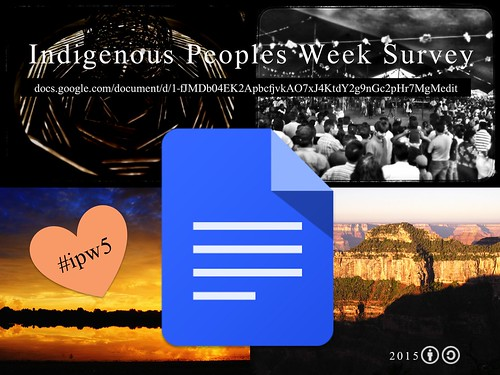 Survey: Indigenous Peoples Week #ipw5