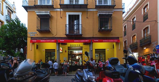 Bodega y tapas, Sevilla (2015)