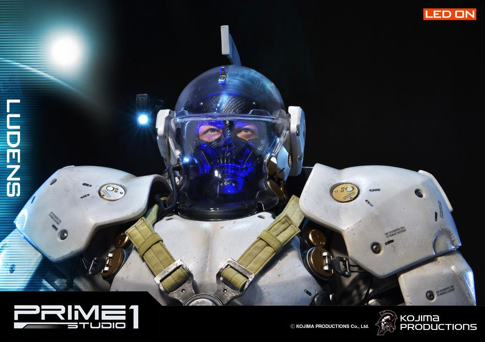 全球最速立體化!Prime 1 Studio - 小島製作 Ludens 1/2 比例雕像 コジマプロダクション ルーデンス 1/2スケール スタチュー EX版