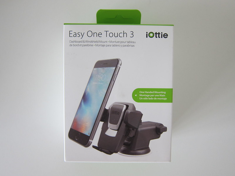 iOttie Easy One Touch 3 (v2) - Box Front