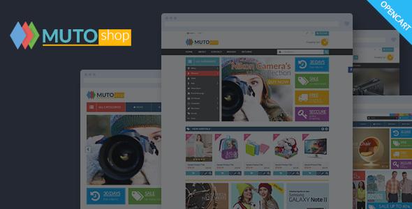 Muto v1.0 - Mega Shop Responsive Opencart Theme