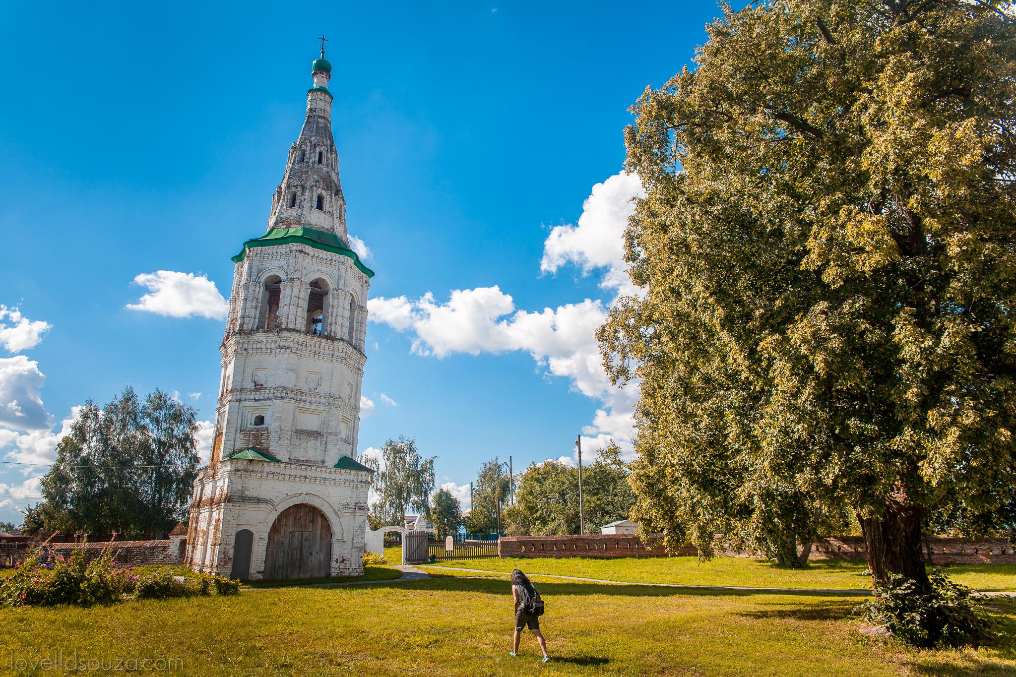 The Bell Tower of the Church of Boris and Gleb (Kideksha)